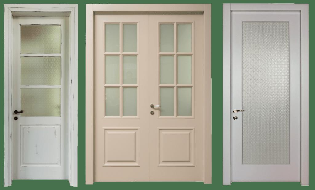 דלתות פנים, דלתות רטרו